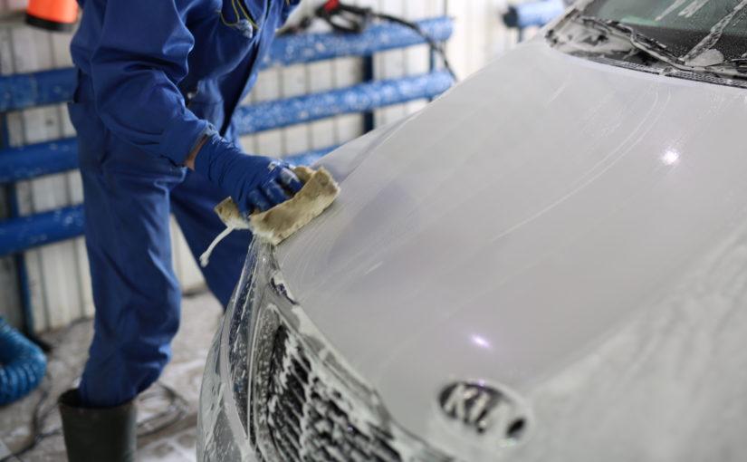 Хорошо ли вымыт автомобиль?